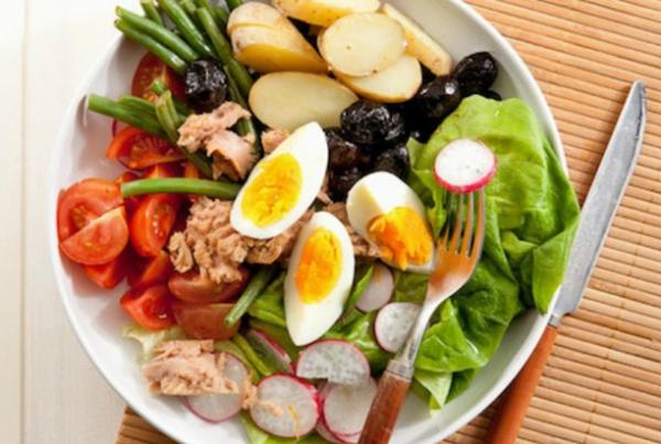 Французский классический салат «Нисуаз» от Джулии Чайльд