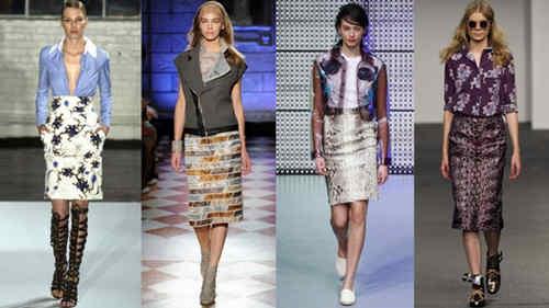 Модные юбки сезона весна-лето 2014